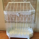 Metal Birdcage for Cards $15 rental fee 36cm (L) x 20cm (W) x 46cm (H)