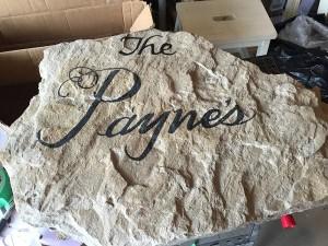 Payne rock