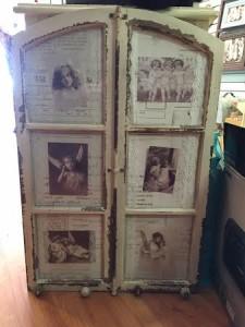 big vintage frame