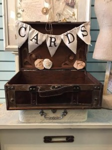 Suitcase Card Box $12 rental